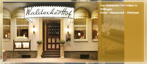 Hotel Waldecker Hof Willingen